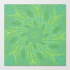 Green Mosaic Canvas Print