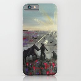The Band Played Waltzing Matilda iPhone Case