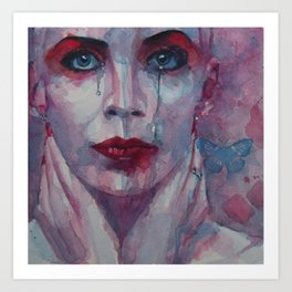 This is the Fear This is the Dread These are the contents of my Head  Annie Lennox Art Print