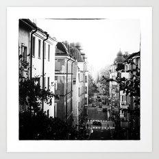 Stockholm Noir no. I Art Print