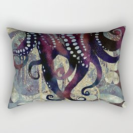 Metallic Ocean II Rectangular Pillow