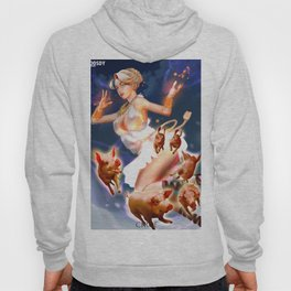 """Circe and Her Guests (""""Charm of of the Ancient Enchantress"""" Series) Hoody"""