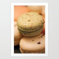 macaron Art Prints featuring MACARON  by Ylenia Pizzetti