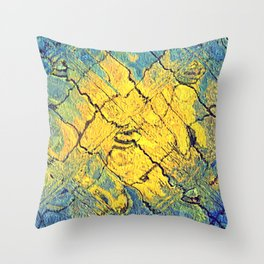 sunabstract. Throw Pillow