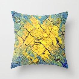 sunabstract. Throw Pillow
