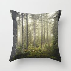 I never sleep Throw Pillow