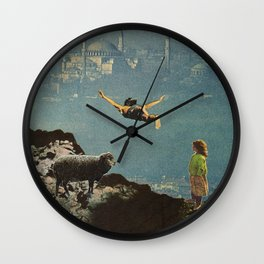 yet another leap of faith Wall Clock