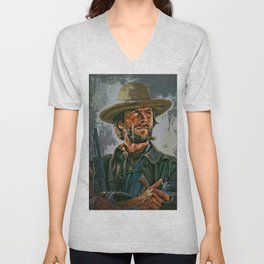 Clint Eastwood Unisex V-Neck