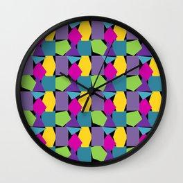 Fun Shapes 2 Wall Clock