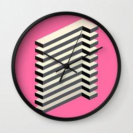 'Geometric Design' Wall Clock