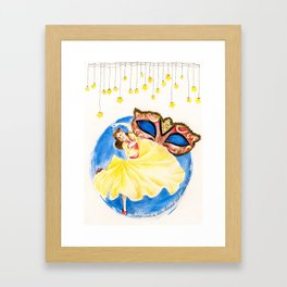 Much Ado About Nothing Framed Art Print