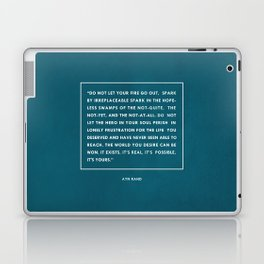 Do not let your fire go out Laptop & iPad Skin