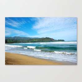 Hanalei Bay.. Canvas Print
