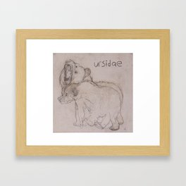 URSIDAE 1 Framed Art Print