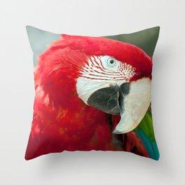 Spectacular Fascinating Smart Tropical Bird Zoom UHD Throw Pillow