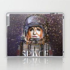 Give me Space (Girl) Laptop & iPad Skin