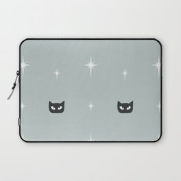 Mid Century Cats and Starburst Pattern Laptop Sleeve