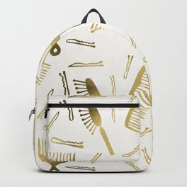 Good Hair Day – Gold Palette Backpack