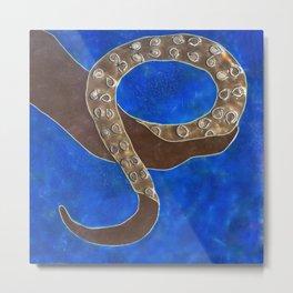 Creature of Water (the tentacle) Metal Print