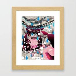 Ugly Mountain Detonation III Framed Art Print