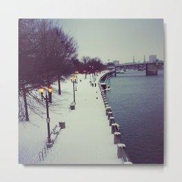 The Waterfront Metal Print