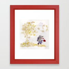 Wind Framed Art Print