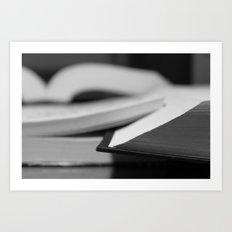 The Book Art Print