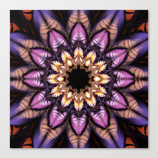 Artistic fantasy flower Canvas Print