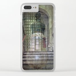 The Stairwell Clear iPhone Case