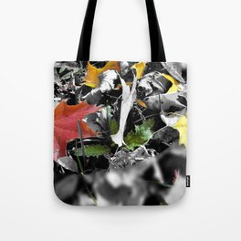 colors in contrast Tote Bag