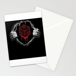 RPG RPG Dungeon Master D20 In The Chest Stationery Cards