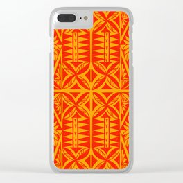 Siapo inspired design Clear iPhone Case