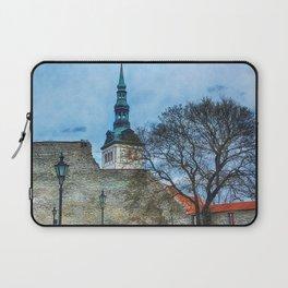 Tallinn art 12 #tallinn #city Laptop Sleeve