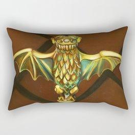 Haunted Mansion Bat Stanchion Rectangular Pillow