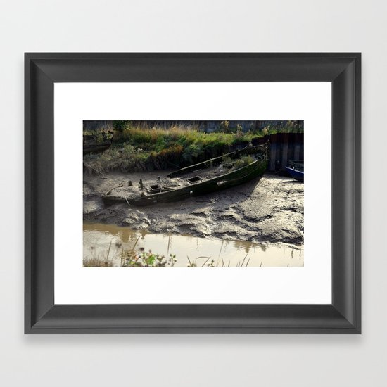 Old Boat (3) Framed Art Print