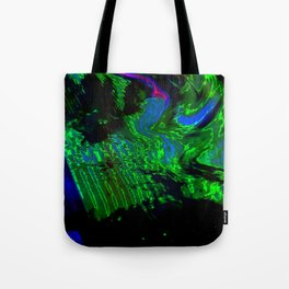 ALTERED PIXL STATES XI [BLUE PEARL] Tote Bag