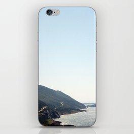 sky road iPhone Skin