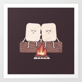 I Melt With You Art Print