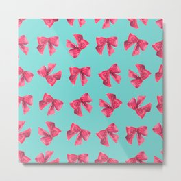 Bows for Tiffany Metal Print