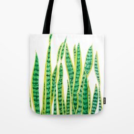 snake plant Tote Bag