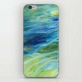 Abstract Moonlight iPhone Skin