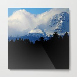 Rolling Over the Peak Metal Print