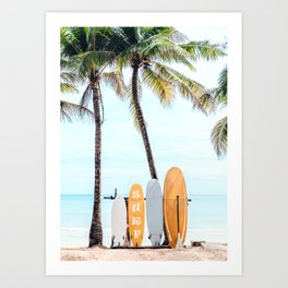 Choose Your Surfboard Art Print