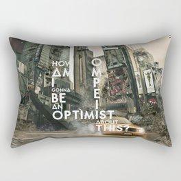 Bastille - Pompeii #3 (How Am I Gonna Be An Optimist About This?) Rectangular Pillow