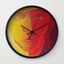 Dear Van Gogh / Stay Wild Collection Wall Clock