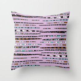Bedazzled Beasts Throw Pillow
