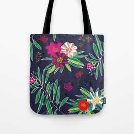 Neo Rainforest-Twillight Tote Bag
