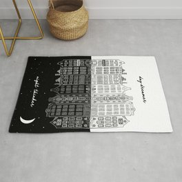 Day Dreamer, Night Thinker Rug