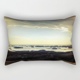 Sunset Over the Water Rectangular Pillow