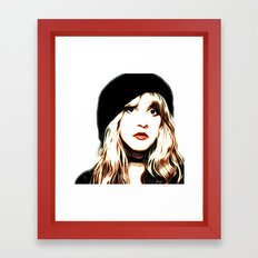 Stevie Nicks - Rhiannon - Pop Art Framed Art Print